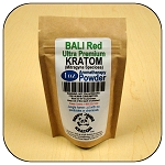 ARM010B - 1oz Eco Pack Bali Red Vein Ultra Premium Superfine Powder Kratom (Mitragyna speciosa)