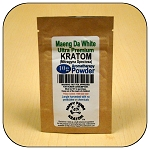 ARM011A - 10g Maeng Da White Vein Ultra Premium Superfine Powder Kratom (Mitragyna speciosa)