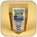 ARM011B - 1oz Eco Pack Maeng Da White Vein Ultra Premium Superfine Powder Kratom (Mitragyna speciosa)