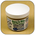 ARM011D - 2oz Maeng Da White Vein Ultra Premium Superfine Powder Kratom (Mitragyna speciosa)