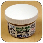 ARM011E - 4oz Maeng Da White Vein Ultra Premium Superfine Powder Kratom (Mitragyna speciosa)