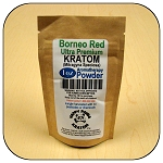 ARM013B - 1oz Eco Pack Borneo Red Vein Ultra Premium Superfine Powder Kratom (Mitragyna speciosa)