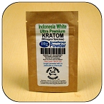 ARM014A - 10g Indonesia White Vein Ultra Premium Superfine Powder Kratom (Mitragyna speciosa)