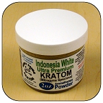 ARM014D - 2oz Indonesia White Vein Ultra Premium Superfine Powder Kratom (Mitragyna speciosa)